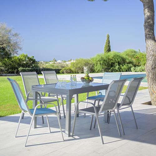 Gartentisch Navarra Silberfarben Online Kaufen Momax