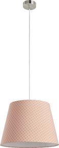 Senčnik Za Svetilko Sahara - bela/oranžna, Trendi, kovina/tekstil (25-35/25cm) - Mömax modern living