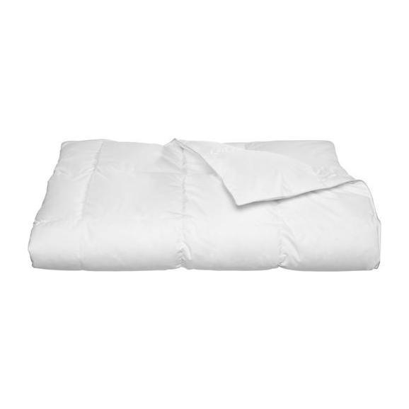 Plapumă Matlasată În Carouri Modern Warm - alb, textil (135-140/200cm) - Nadana