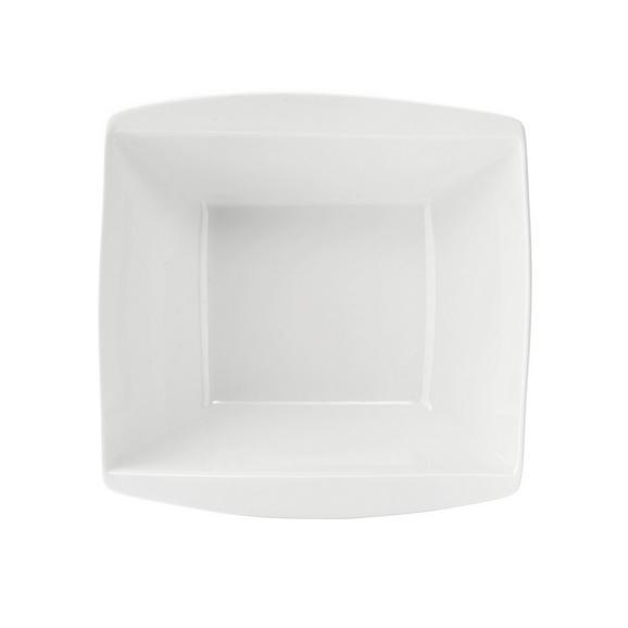 Schüssel Pura in Weiß - Weiß, LIFESTYLE, Keramik (23,2/23,3cm) - Premium Living