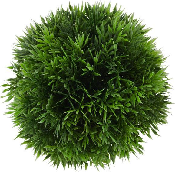 Krogla Trave Jasmin - zelena, umetna masa (15cm) - Mömax modern living