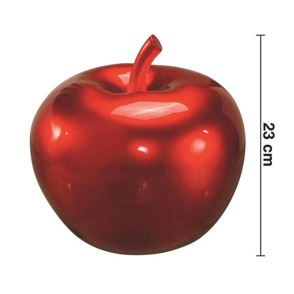 Dekoapfel Lizzy H ca. 23 cm - Rot, LIFESTYLE, Kunststoff (25/23cm) - Mömax modern living