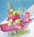 Desertni Krožnik Flamingo Couple - roza, Trend, umetna masa (20cm) - Mömax modern living