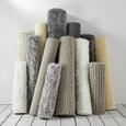 Teppich Carolin Handgewebt ca.140x200cm - Grau, MODERN, Textil (140/200cm) - Mömax modern living