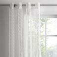 ÖSENVORHANG Astrid in Weiß, ca. 140x245cm - Weiß, MODERN, Textil (140/245cm) - Mömax modern living