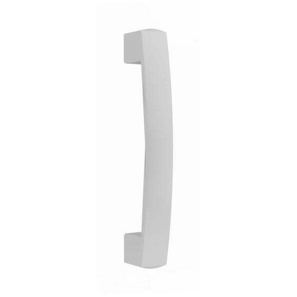 Griff in Weiß - Weiß, MODERN, Metall (35,2/2,8/0,6cm) - Based