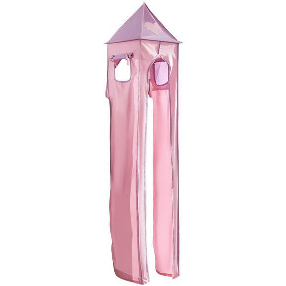 Turmset Turm-set Klein - Flieder/Rosa, Design, Textil (40/200/40cm)