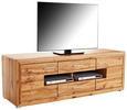 Tv-element Tizio - hrast/srebrna, Moderno, kovina/umetna masa (180/59,6/49,5cm) - Zandiara