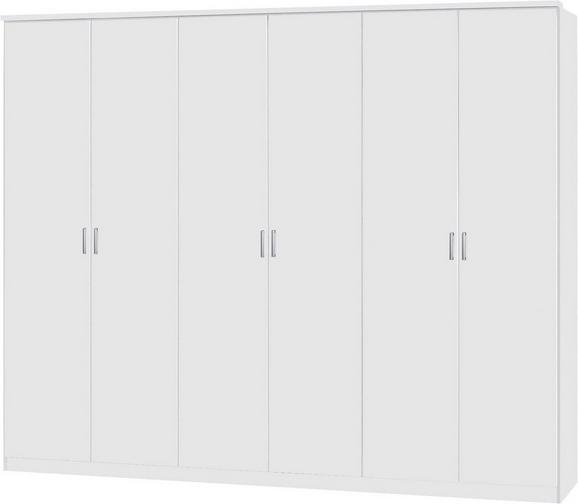Ruhásszekrény Lemgo - Fehér, konvencionális, Fa (271/212/54cm)