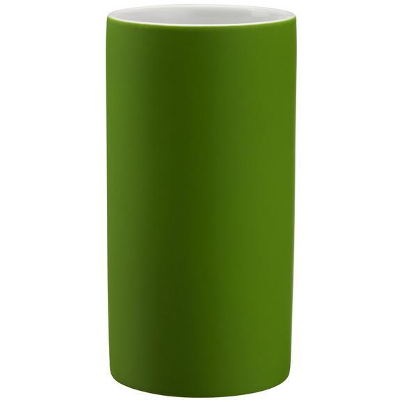 Lonček Za Umivanje Zob Melanie -ext- - zelena, Konvencionalno, keramika (6,5/12cm) - Mömax modern living