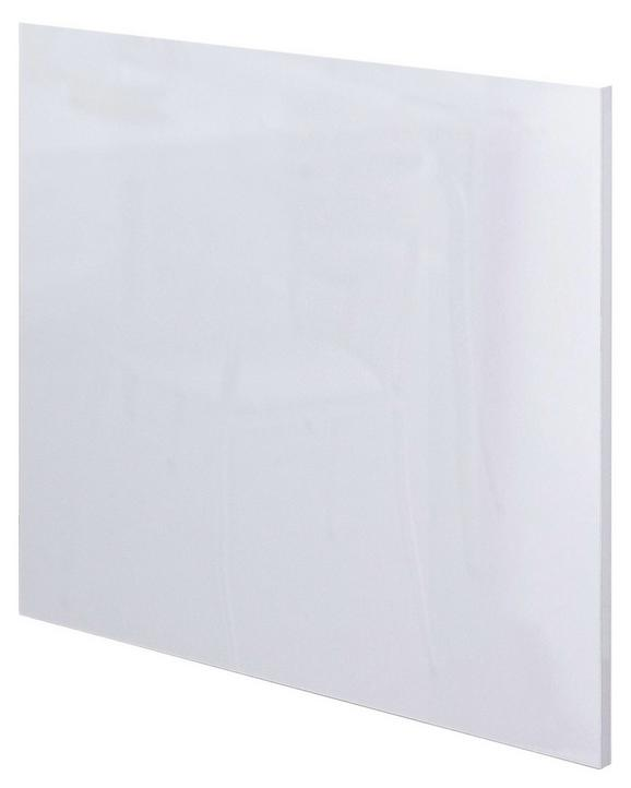 Geschirrspülerblende Venezia-valero Weiß - Weiß, MODERN, Holzwerkstoff (59,4/54,5cm)