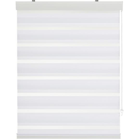 Klemmrollo Klemm Light, ca. 60x160cm - Weiß, MODERN, Textil/Metall (60/160cm) - Mömax modern living