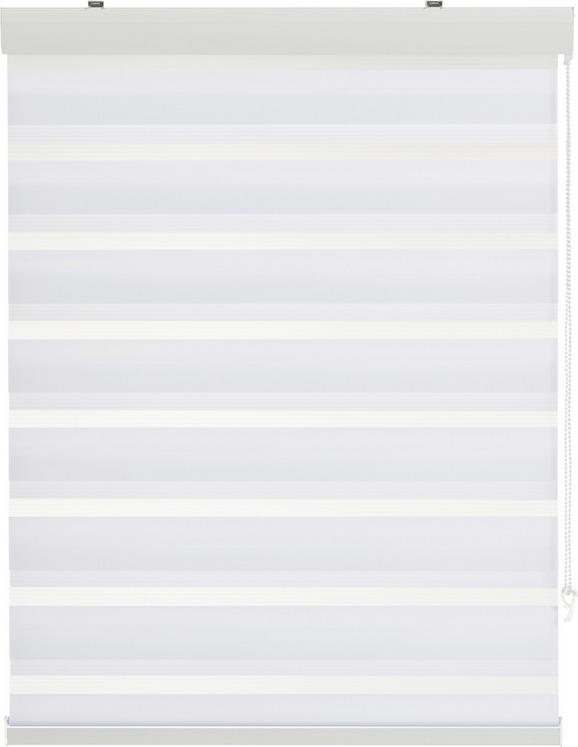 Rolo Za Pritrjevanje Klemm Light - bela, Moderno, kovina/tekstil (60/160cm) - Mömax modern living