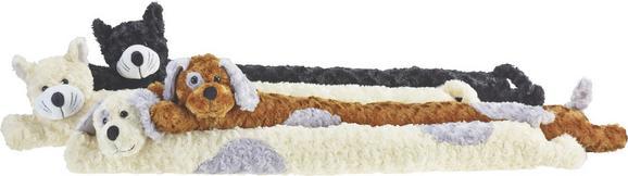 zugluftstopper Tiere, ca. 10x90cm - Schwarz/Braun, Textil (10/90cm) - Mömax modern living