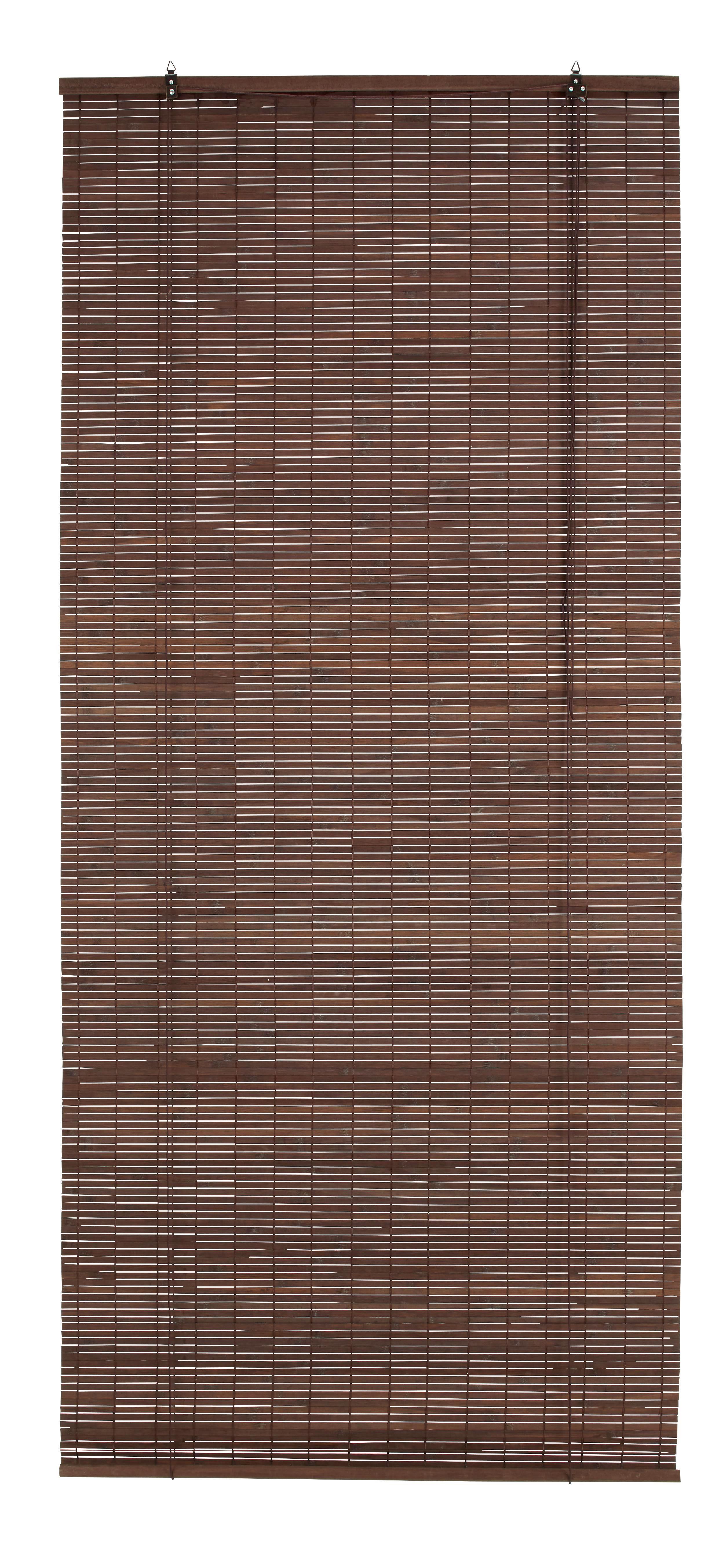 Rollo Woody in Braun, ca. 80x180cm - Dunkelbraun, Holz (80/180cm) - MÖMAX modern living