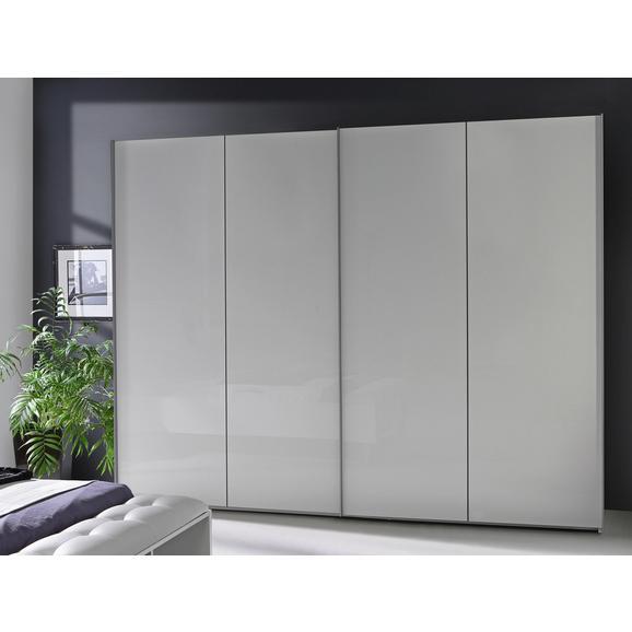 Dulap Cu Uși Culisante Jokaza - alb, Modern, plastic/compozit lemnos (269,9/210,5/61,2cm)