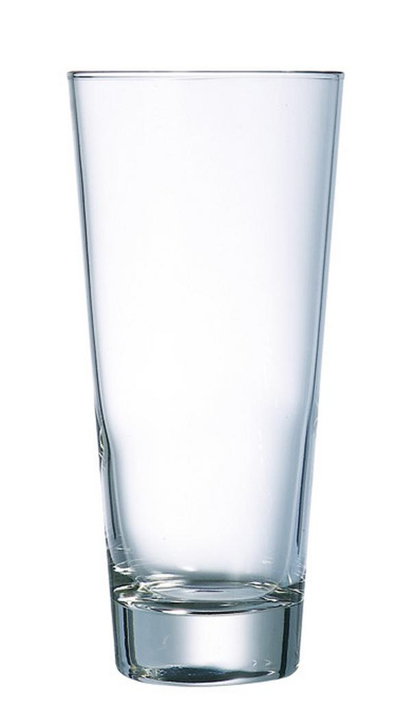 Longdrinkglas Sam ca. 380ml, 4 Tlg. - Klar, KONVENTIONELL, Glas - Mömax modern living