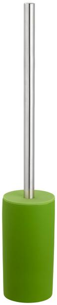WC-Bürste Melanie Grasgrün - Schwarz, KONVENTIONELL, Kunststoff/Metall (8/45cm) - Mömax modern living
