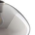 Pendelleuchte Santiago - Schwarz, MODERN, Glas/Metall (30/175cm) - Bessagi Home