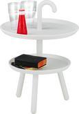 Beistelltisch Weiß - Weiß, MODERN, Kunststoff (42/56cm) - Mömax modern living