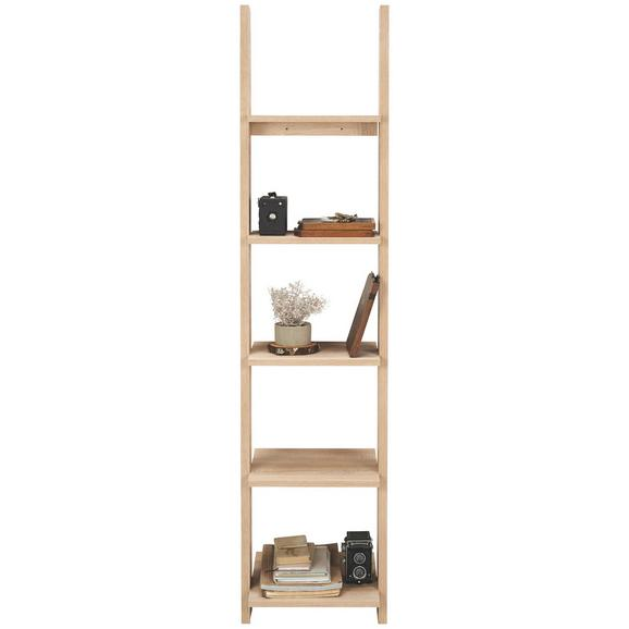 regal in eiche 5 ablagen online kaufen m max. Black Bedroom Furniture Sets. Home Design Ideas