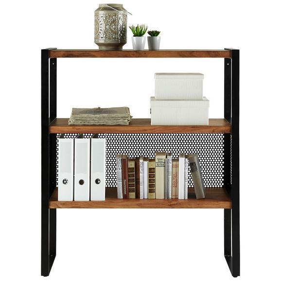 regal schwarz naturfarben online kaufen m max. Black Bedroom Furniture Sets. Home Design Ideas