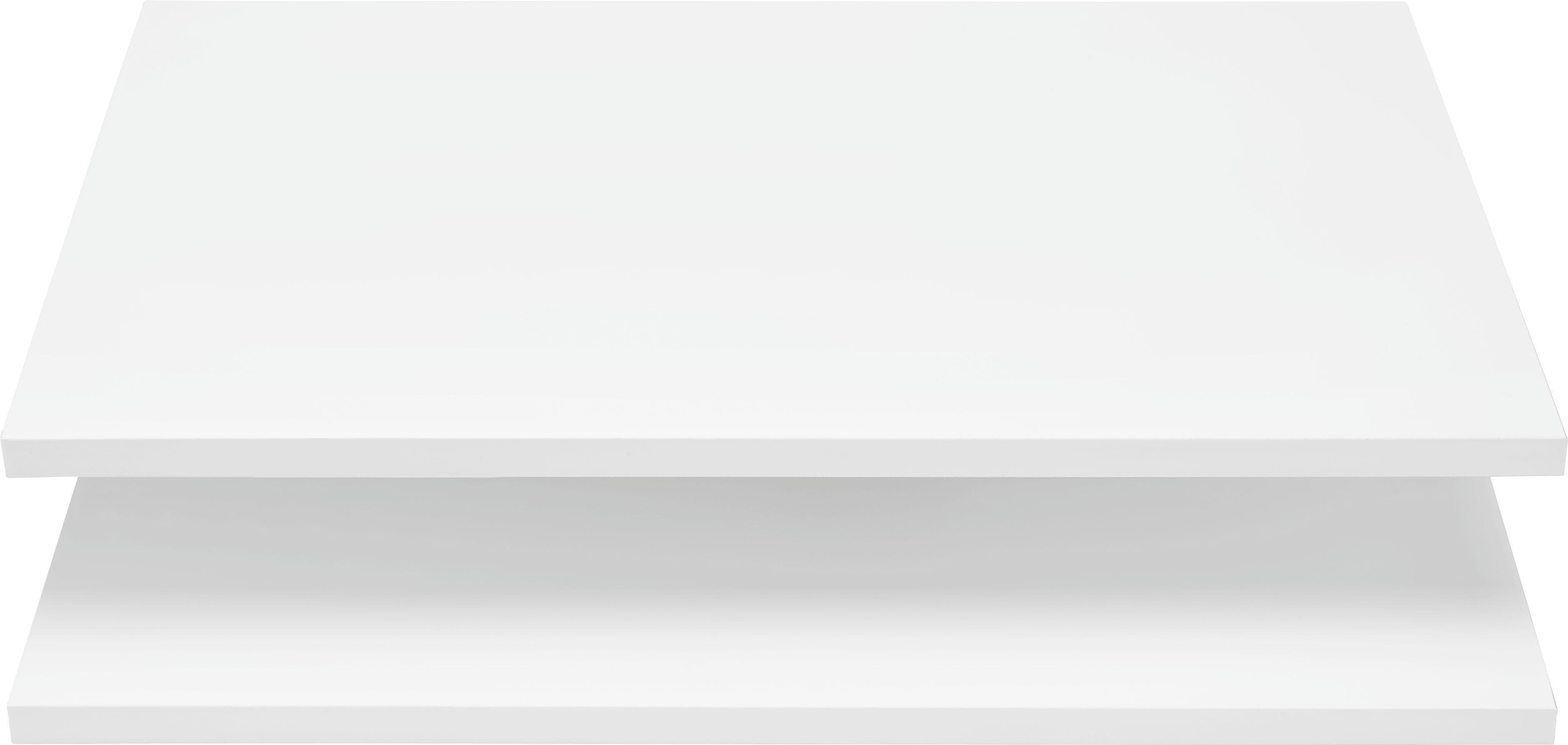 Einlegebodenset in Weiß, 2er Set - Weiß, Holzwerkstoff (52/1,6/34cm) - MÖMAX modern living