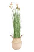 Cvetlični Lonček Dalilah - naravna/pastelno roza, umetna masa/ostali naravni materiali (25/30/cm) - Modern Living