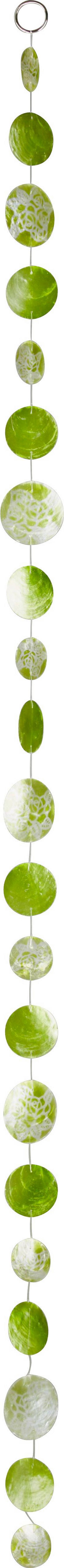 Girland Capiz - zöld, modern, további természetes anyagok (180cm) - MÖMAX modern living