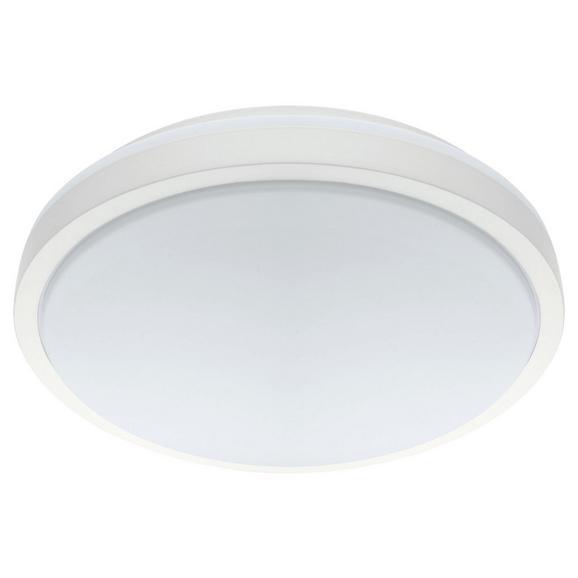 LED-Deckenleuchte max. 22 Watt 'Competa 1' - Weiß, MODERN, Kunststoff/Metall (24,5/5,5cm)