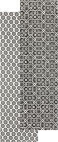 Tischläufer Shiva in verschiedenen Designs - Schwarz/Weiß, LIFESTYLE, Textil (45/150cm) - Mömax modern living