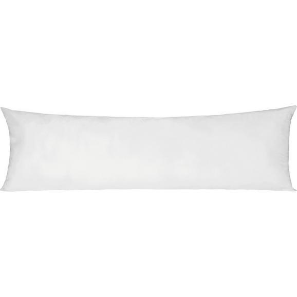 Pernă Pentru Dormit Pe O Parte Lisi - alb, textil (40/120cm) - Nadana