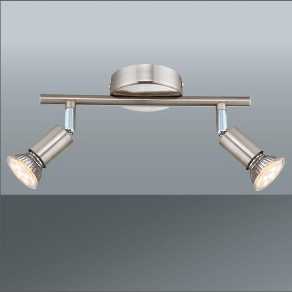 LED-Strahler Fritz, max. 2x3 Watt - KONVENTIONELL, Metall (25,5/15cm) - Mömax modern living