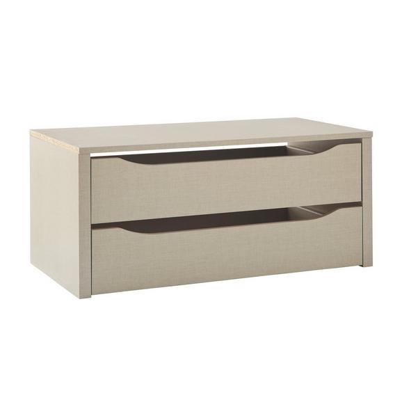 NOTRANJI PREDALI Dodatki - bukev, leseni material (88/39/45cm) - Modern Living