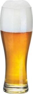 Kozarec Za Pšenično Pivo Hans - prozorna, steklo (8,1/21,3cm) - MÖMAX modern living