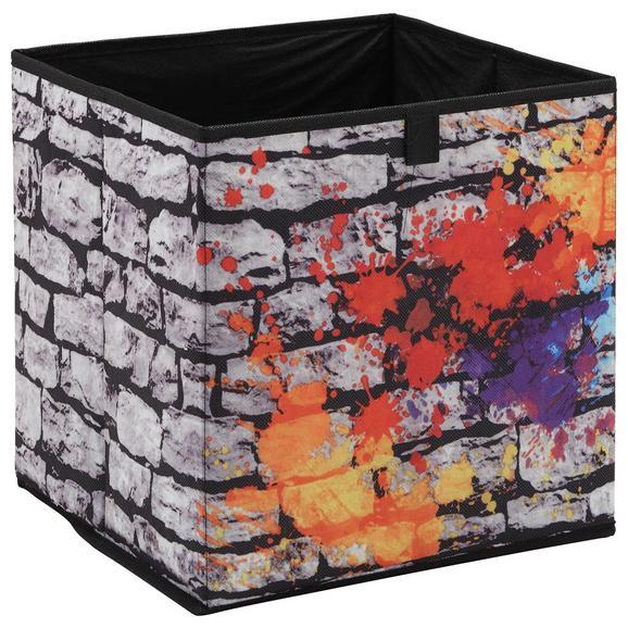 Škatla Za Shranjevanje Poppi 3 In Bunt - večbarvno, Moderno, karton/tekstil (32/32/32cm) - Mömax modern living
