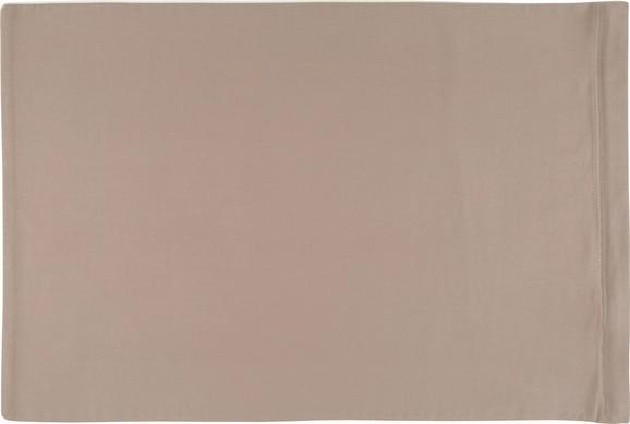 Kissenhülle Belinda, ca. 40x80cm - Creme/Grau, Textil (40/80cm) - Premium Living