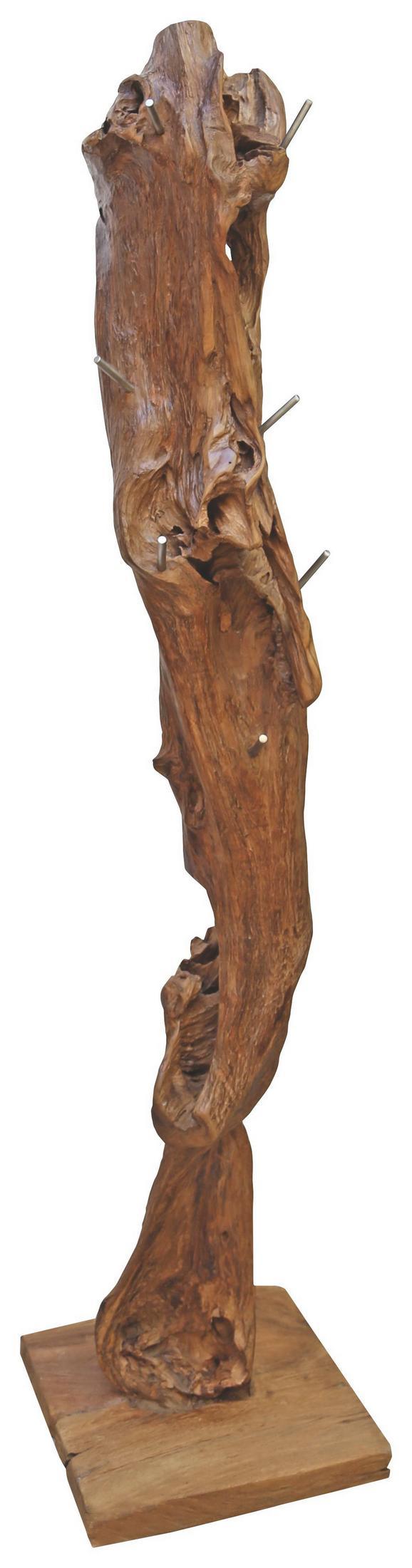 Kleiderständer Holz kleiderständer in teakfarben kaufen mömax