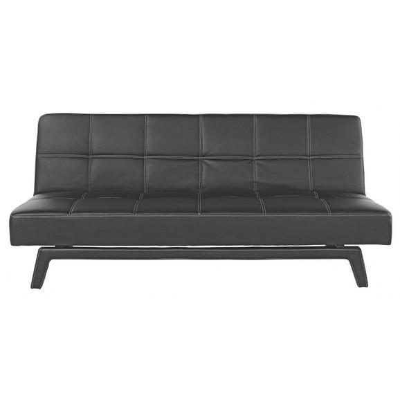 Trosjed Jan - bijela/crna, Lifestyle, drvo/tekstil (180/79/92cm) - Mömax modern living