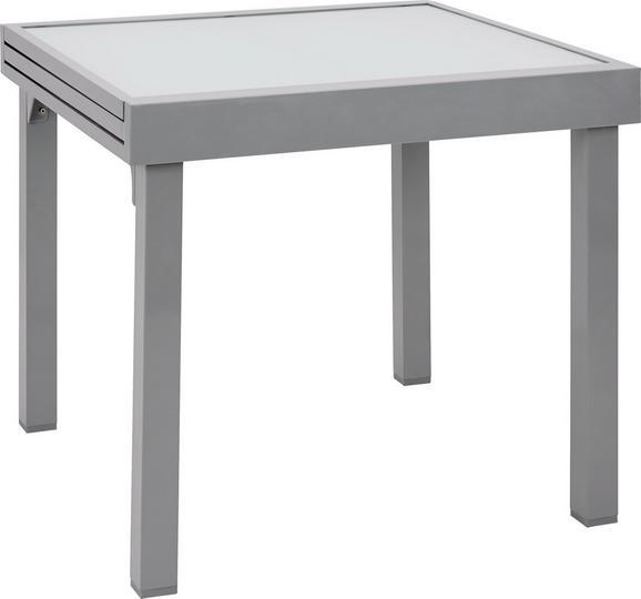 Gartentisch Franco Silberfarben Online Kaufen Momax