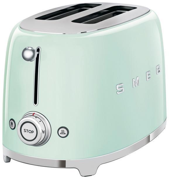 Toaster Smeg Tsf01pg Hellgrün - Hellgrün (31/19,8/19,5cm) - SMEG