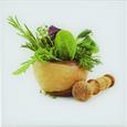 Glasbild Fresh Kitchen, 20x20x1,70cm - Multicolor, MODERN, Glas (20/20/1,70cm) - Mömax modern living