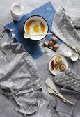 Schürze Friends Grau - Grau, Textil (70/90/cm) - Mömax modern living