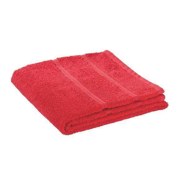Handtuch Melanie in Rot - Rot, Textil (50/100cm)
