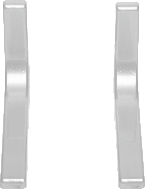 Polctartó Leonardo - ezüst színű, fém (24cm)
