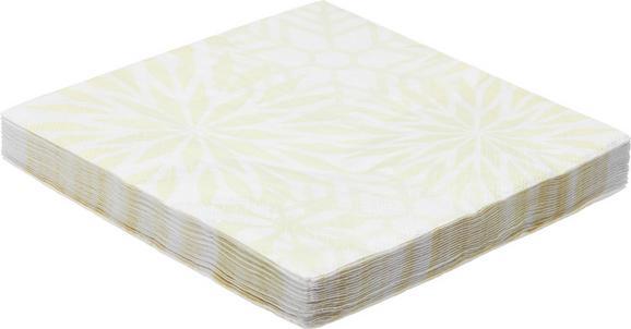 Serviette Patty aus Papier in Champagner - Champagner, Holz (16,5/16,5/2,5cm) - MÖMAX modern living