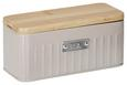 Teebox Cosima Taupe - Taupe, MODERN, Holz/Metall (20/8,5/8,5cm) - Zandiara