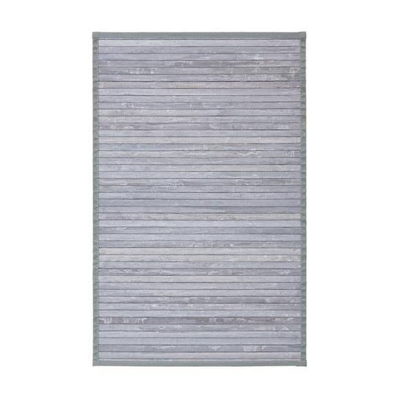 Flachwebeteppich Paris Grau 50x80cm - Grau, Textil (50/80cm) - Mömax modern living