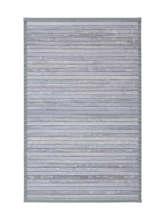 Ravno Tkana Preproga Paris 1 - siva, tekstil (50/80cm) - Mömax modern living