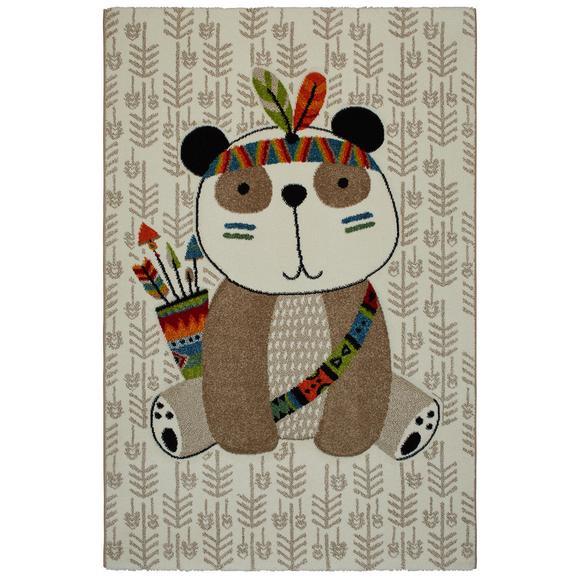 Gyerekszőnyeg Panda 100/150 - Bézs, Basics, Textil (100/150cm) - Mömax modern living